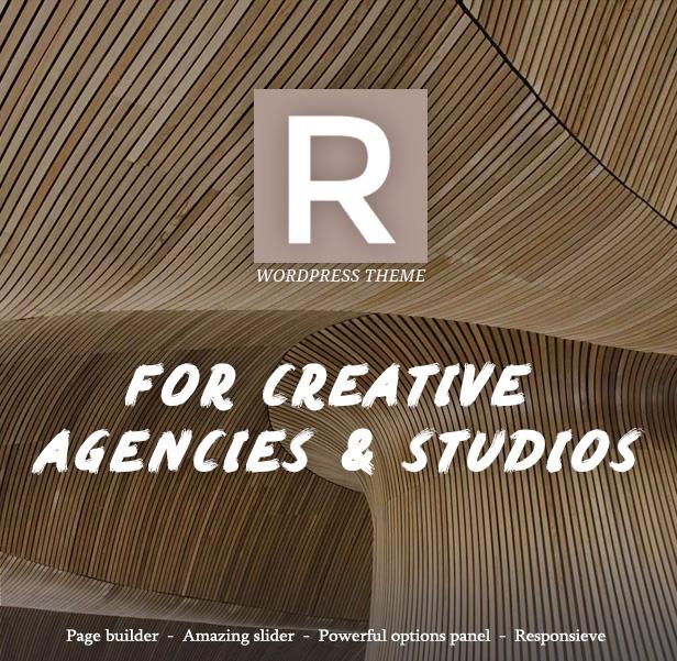 Rigel - Ultimate Agency & Portfolio Theme - 1