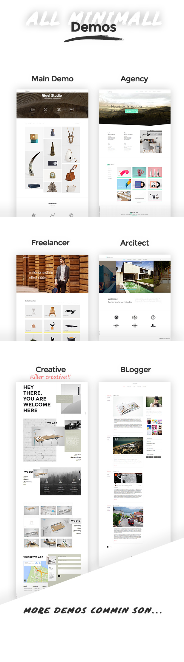 Rigel - Ultimate Agency & Portfolio Theme - 2